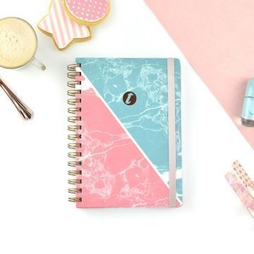 Cuaderno A5 T-Notes Marble